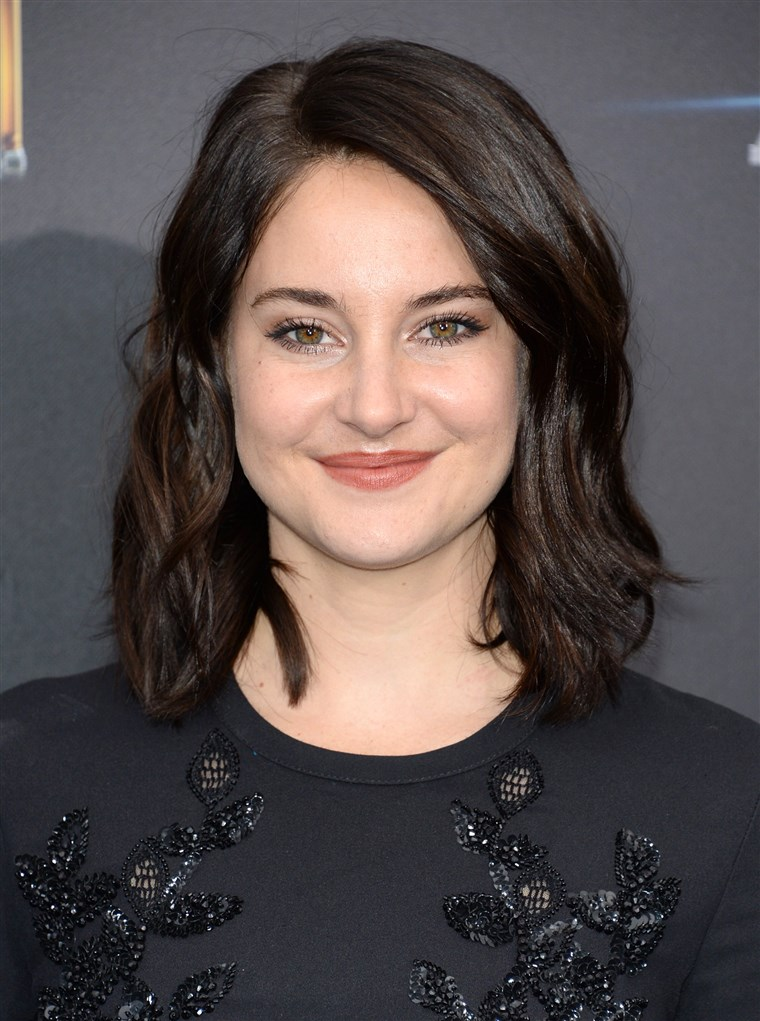 Shailene Woodley beauty & hair