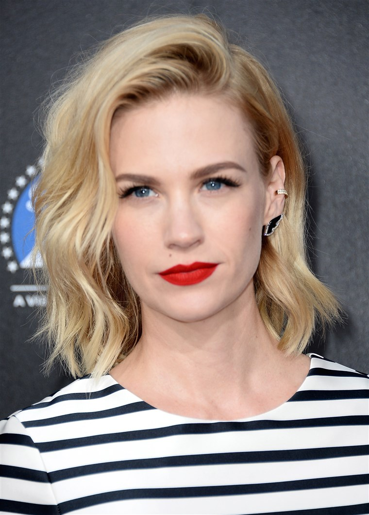 Januari Jones haircut