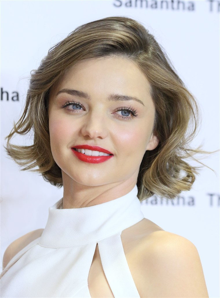 Miranda Kerr haircut