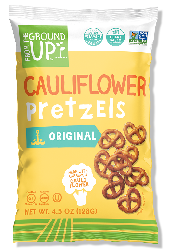 から the Ground Up Cauliflower Pretzels