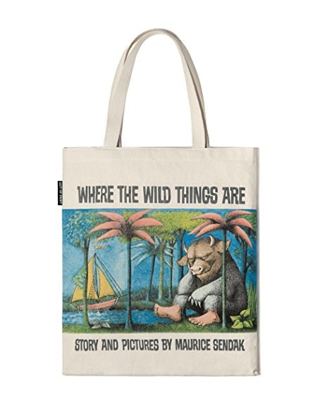 Dove the WIld Things Are TOte