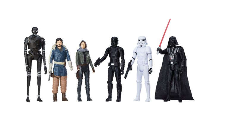 Bintang Wars Rogue One Action Figure 12