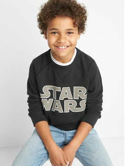 Bintang Wars sweatshirt for kids Gap