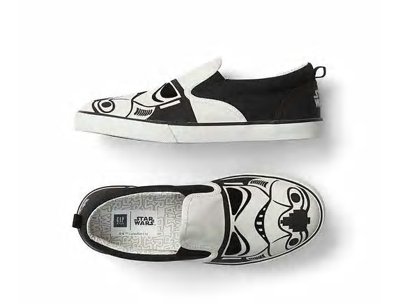 Bintang Wars storm trooper sneakers by Gap