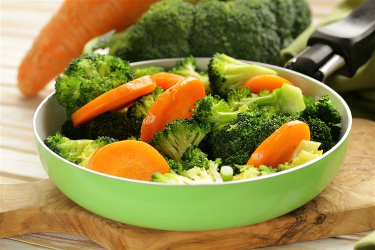 campur aduk vegetables with carrots and broccoli tasty garnish; Shutterstock ID 180991424; PO: today.com