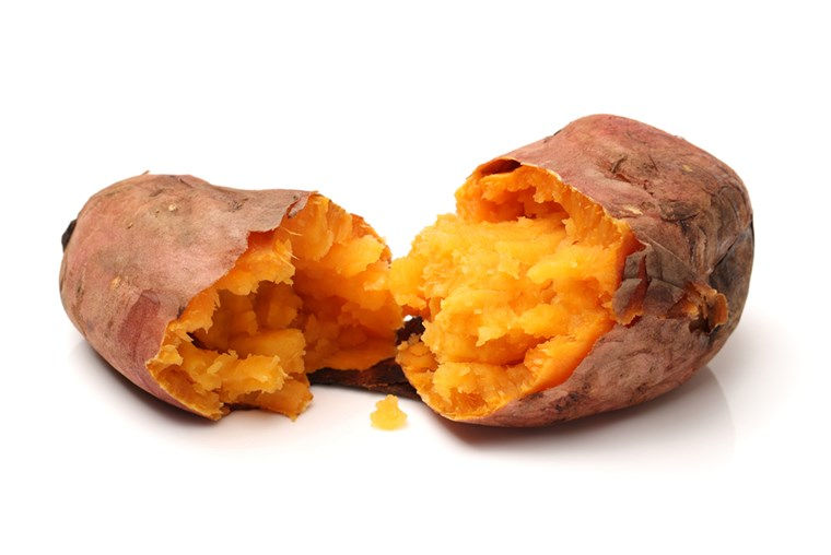 panggang sweet potatoes on a white background ; Shutterstock ID 155071907; PO: today.com