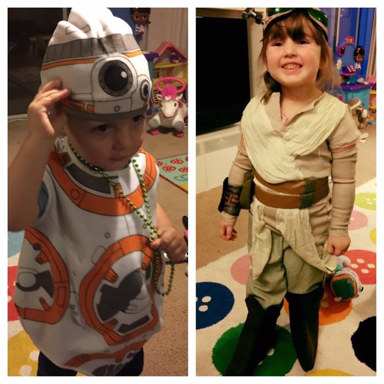 Rey and BB8 Halloween Costumes