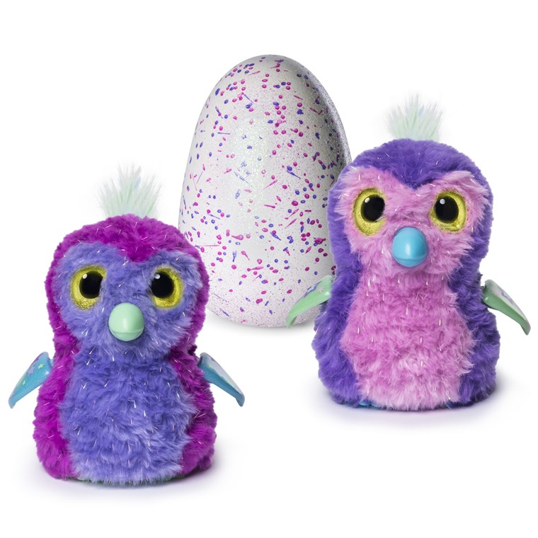 cova egg and interactive sparkly penguala