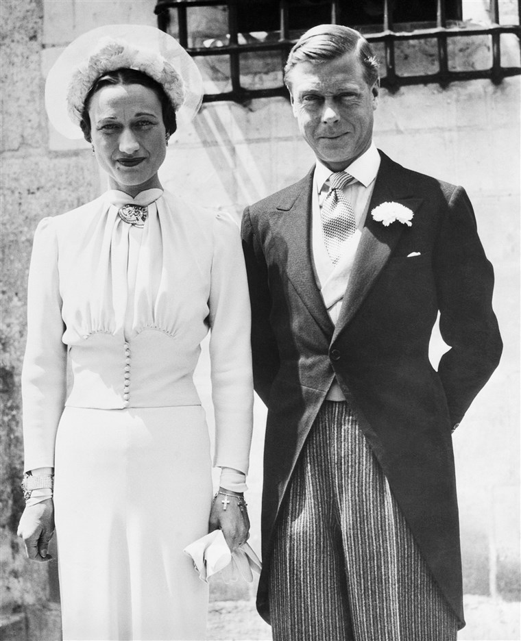 Immagine: Wallis Simpson, Duchess of Windsor, to Prince Edward After Their Wedding