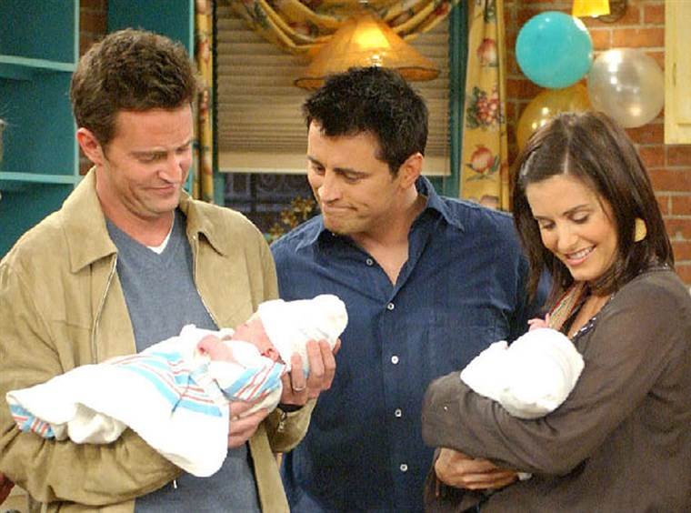 画像: Chandler, Joey, Monica