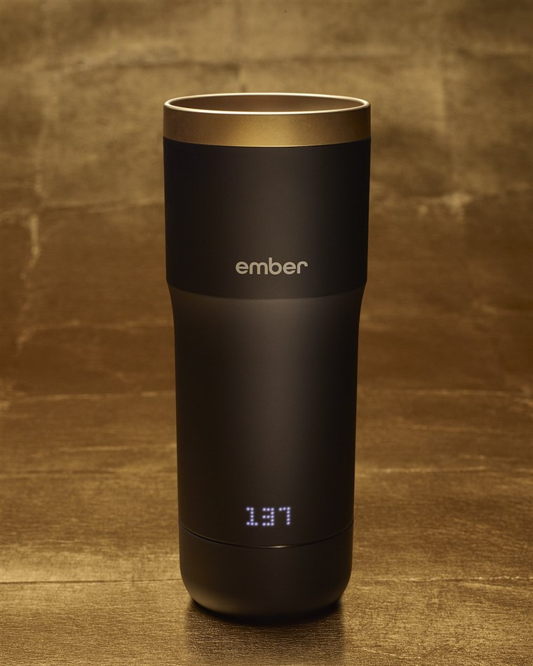 ザ Ember Mug with the 24 Karat Halo Lid