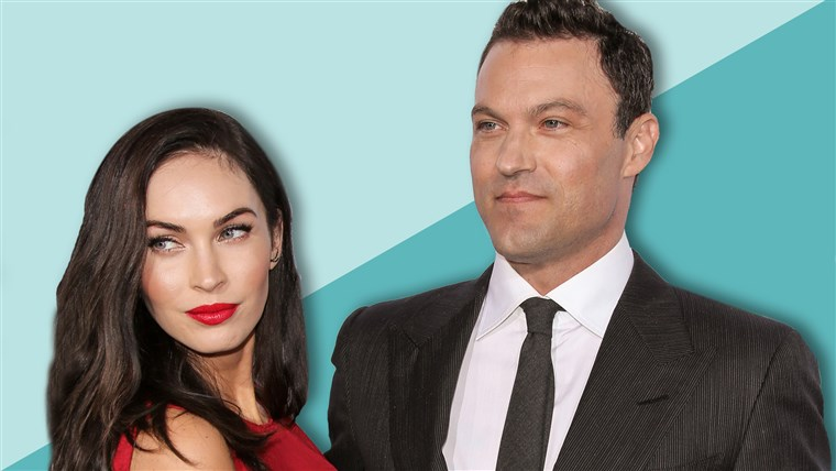 브라이언 Austin Green and wife Megan Fox