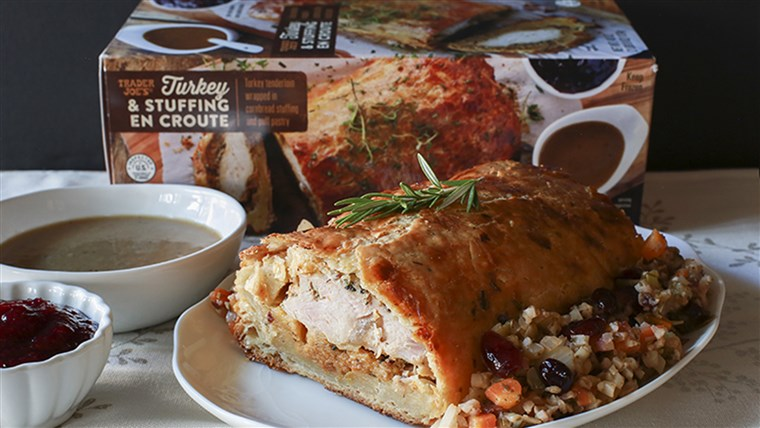 Pedagang Joe's Turkey En Croute
