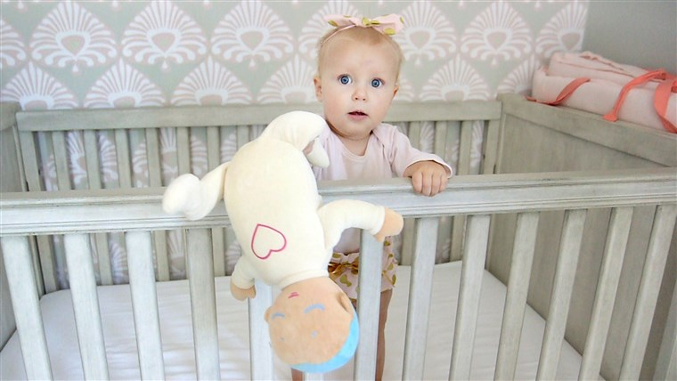 Il doll's soft, plushy feel makes it a sweet toy - even if your baby isn't sleeping.