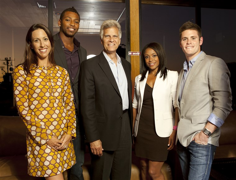 데이비드 Boudia, Janet Evans, Cullen Jones, Dominique Dawes, Mark Spitz,