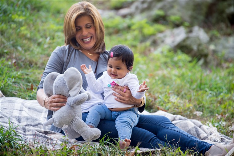 hoda says her daughter, Haley, reminds her
