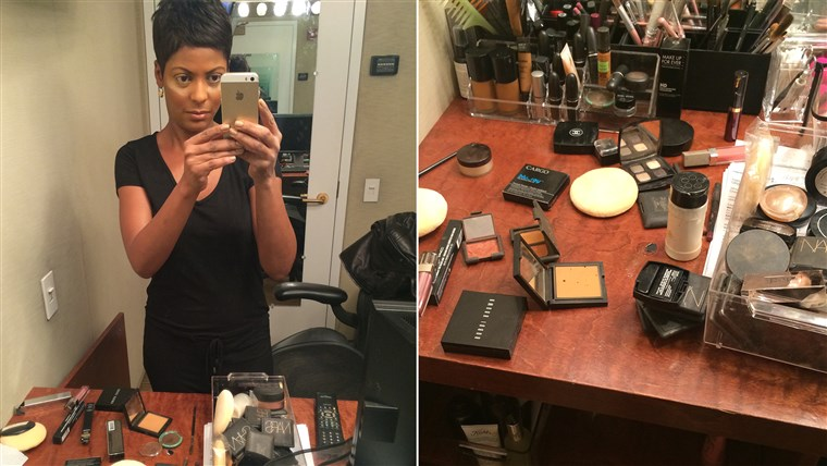 Tigapuluh minutes or less: The Tamron Hall Makeup Rule.