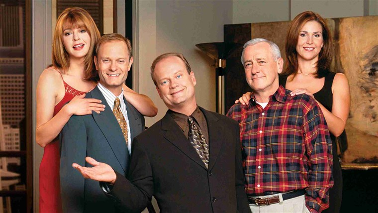 画像: TELEVISION COMEDY SERIES FRASIER FINALE TO BE TELECAST MAY 13