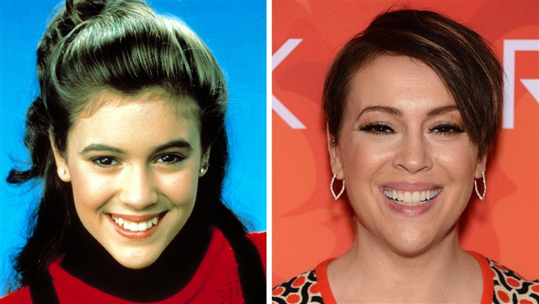 Alyssa Milano on Who's The Boss and now