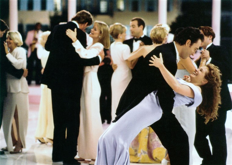 じぶんの BEST FRIEND'S WEDDING, front from left: Dermot Mulroney, Julia Roberts, 1997, (C) TriStar/courtesy