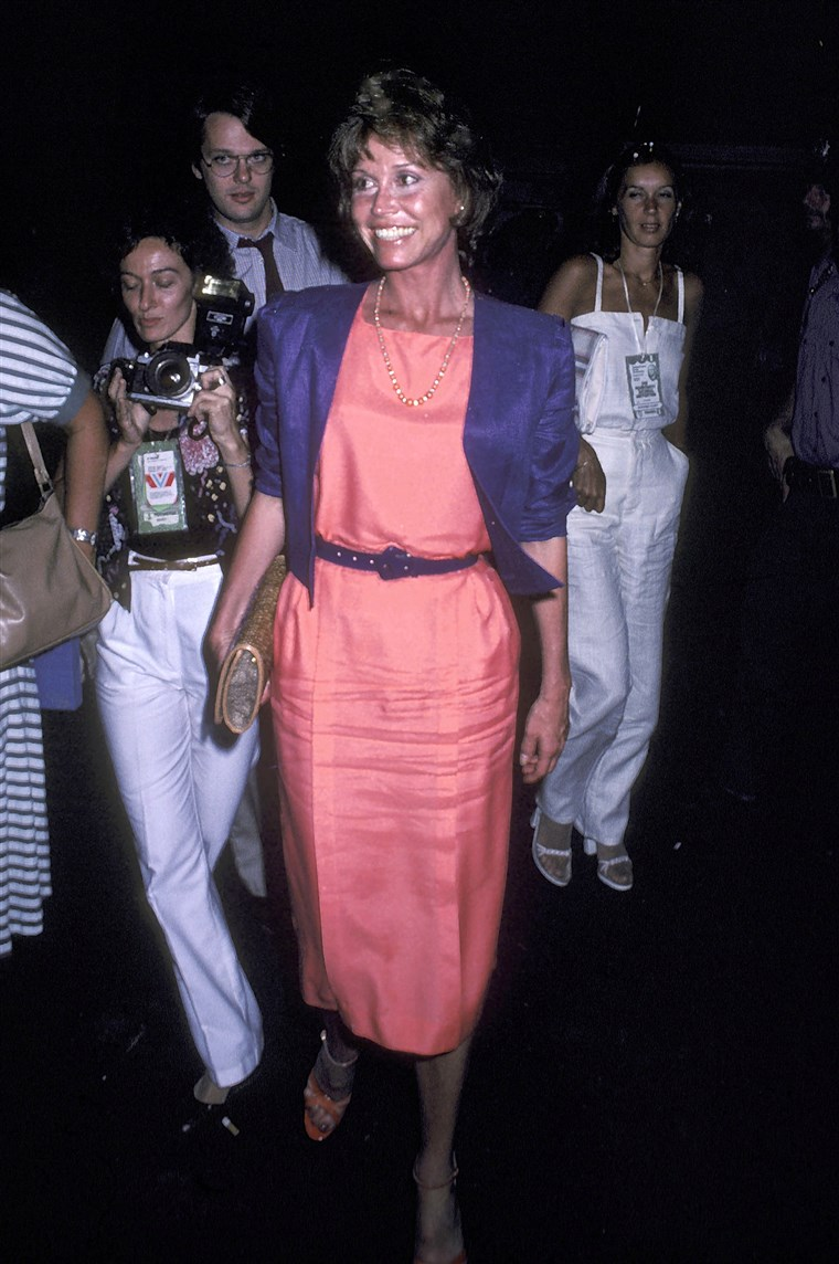 Mary Tyler Moore at the 1980 Democratic National Convention