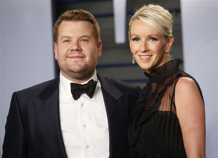 Giacomo Corden and his wife Julia Carey