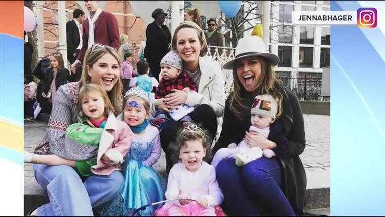 ジェンナ・ブッシュ・ヘイガーと家族