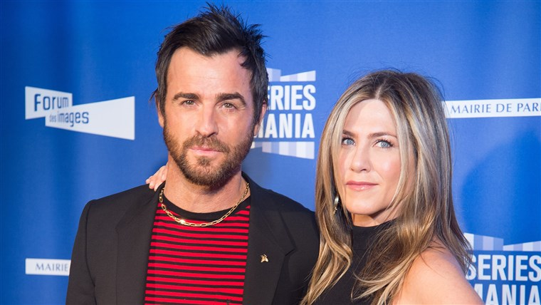 제니퍼 Aniston, Justin Theroux