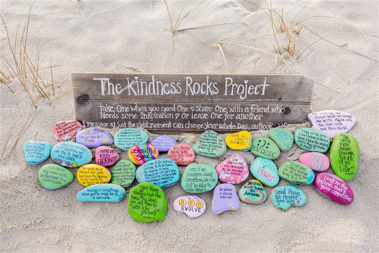 Megan Murphy started the Kindness Rocks Project after looking for a meaningful way to serve her community.