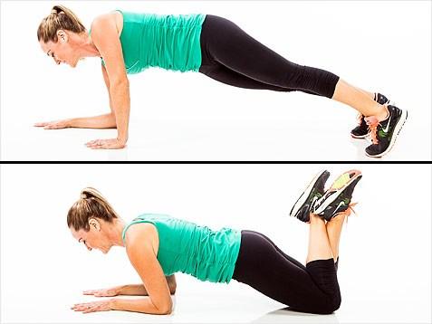 esercizi di routine per perdere le braccia