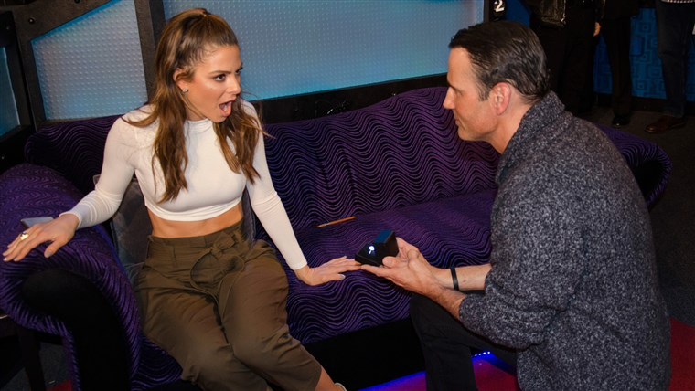 Maria Menounos, got engaged to long-time boyfriend Keven Undergaro, who popped the question while they appeared on Howard Stern's SiriusXM radio show on March 9, 2016.