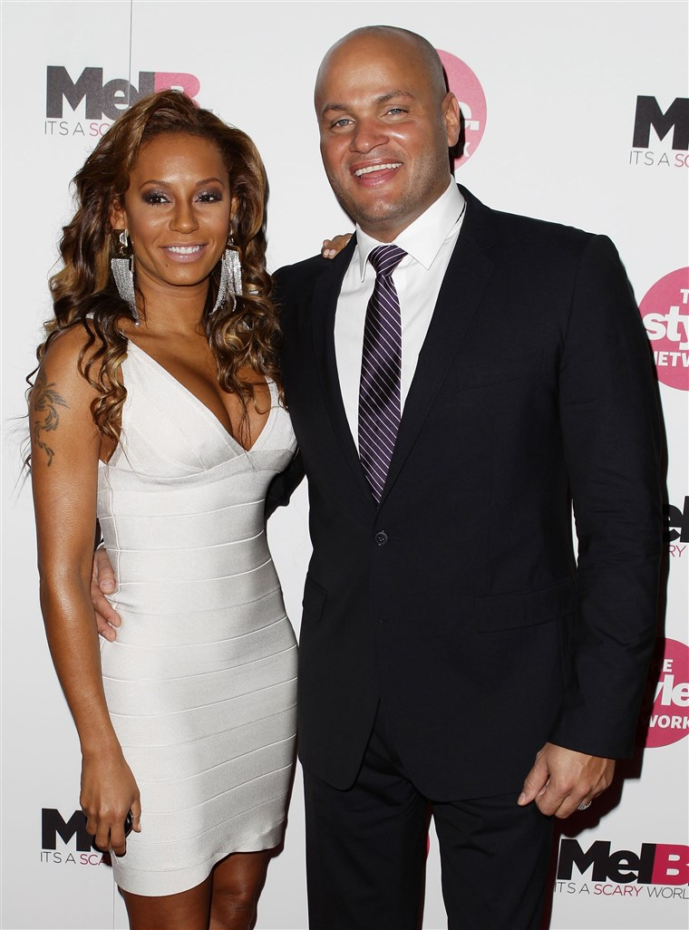 Gambar: FILE - Melanie Brown Gives Birth To Third Daughter