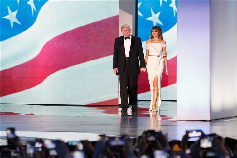 대통령 Donald Trump Attends Inauguration Freedom Ball