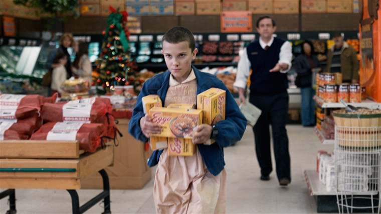 Immagine: STRANGER THINGS, Millie Bobby Brown in 'Chapter Six: The Monster', (Season 1, Episode 6, aired July