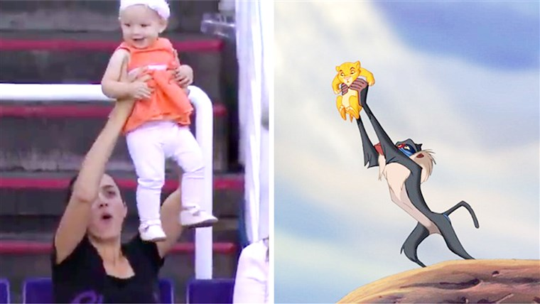 Itu Phoenix Suns unveiled their 'Lion King Cam' in today's game