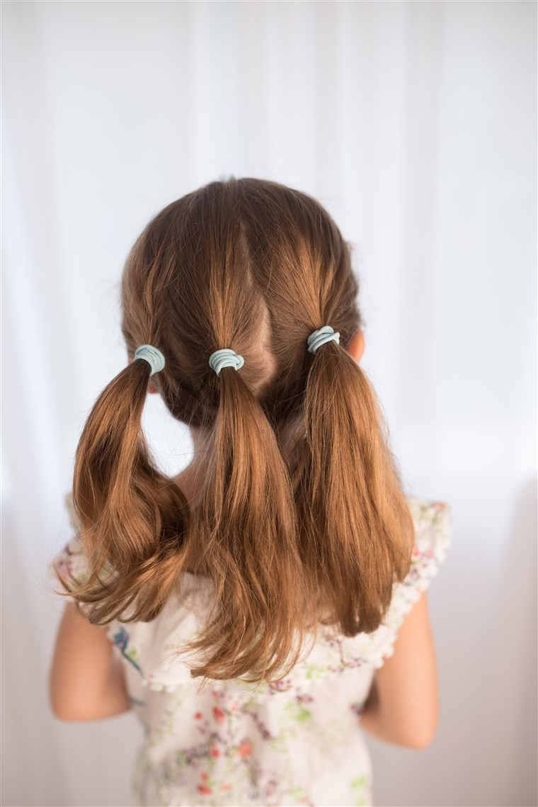 Basso up-do hairstyle for kids