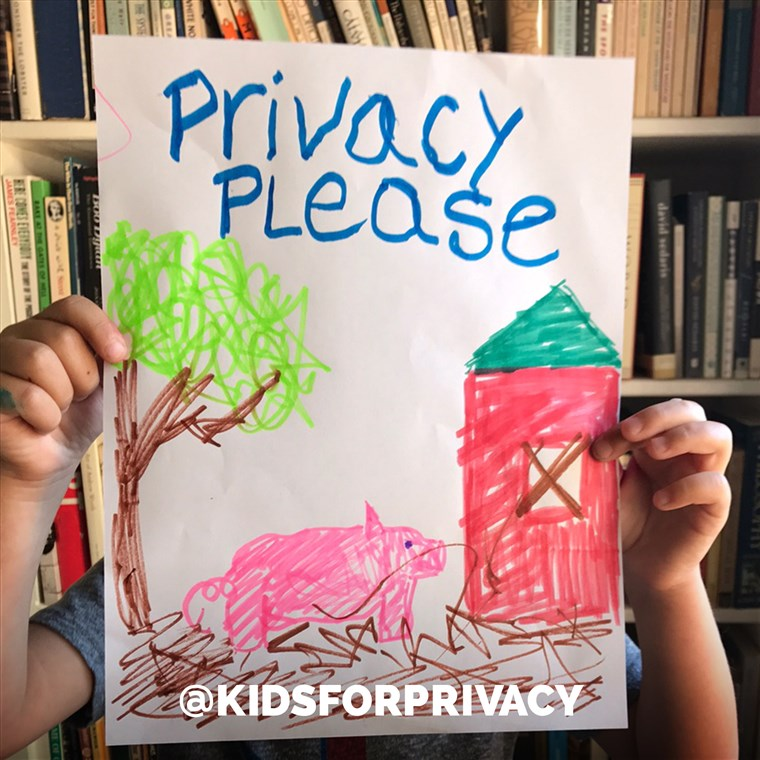 Il @KidsForPrivacy is educating parents on posting pictures safely online to protect their children from predators.