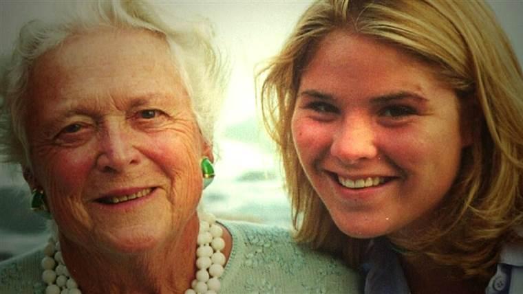 Jenna Bush Hagerの美しい手紙を読んで、祖母Barbara Bushに