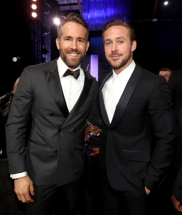 Ryan Reynolds and Ryan Gosling
