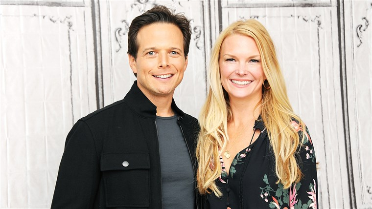 Scott Wolf and wife Kelley Limp