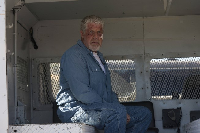 Ron Perlman played Clay Morrow on