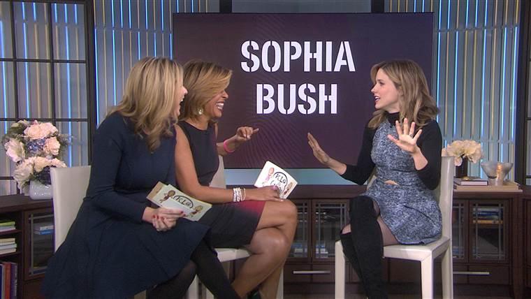 ソフィア・ブッシュ:私がジェナに関連しているかどうか尋ねる