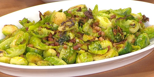 Bruxelles Sprouts with Pancetta