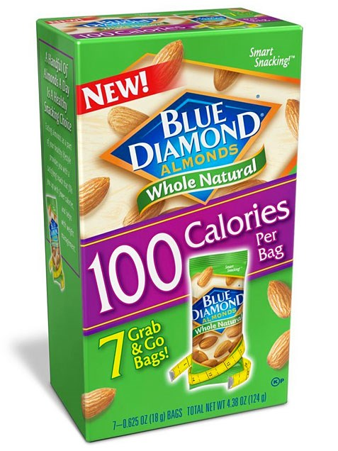 Migliore Nut Snack for Kids: Blue Diamond Almonds 100-Calorie Packs