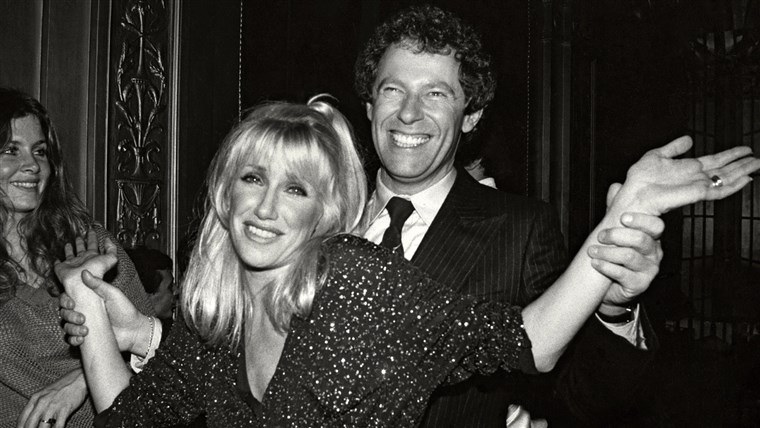 スザンヌ Somers and husband Alan Hamel at Studio 54