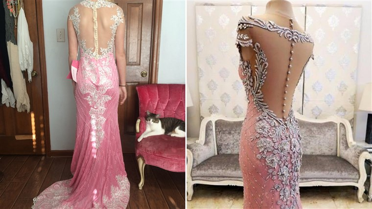 remaja scammed on prom dress