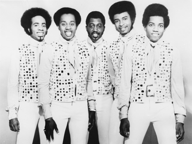 Itu Temptations in 1972. From left, the singers are Richard Street, Melvin Franklin, Otis Williams, Dennis Edwards and Damon Harris.