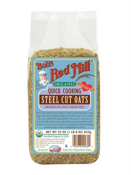 단발's Red Mill Instant Steel Cut Oatmeal