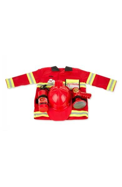 여자 이름 & Doug Personalized Fire Chief Costume