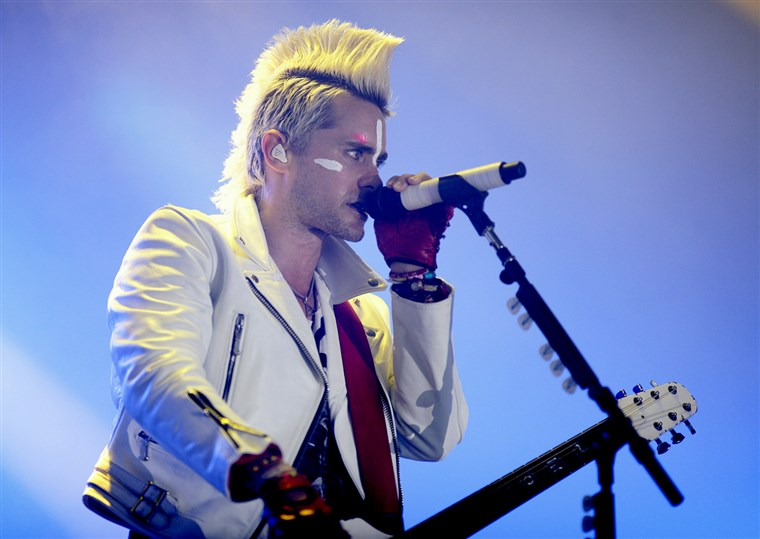 Jared Leto of 30 Seconds To Mars